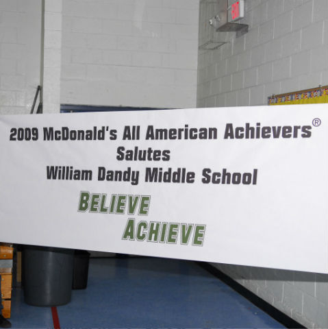 McDonald's All American Achievers Pep Rally