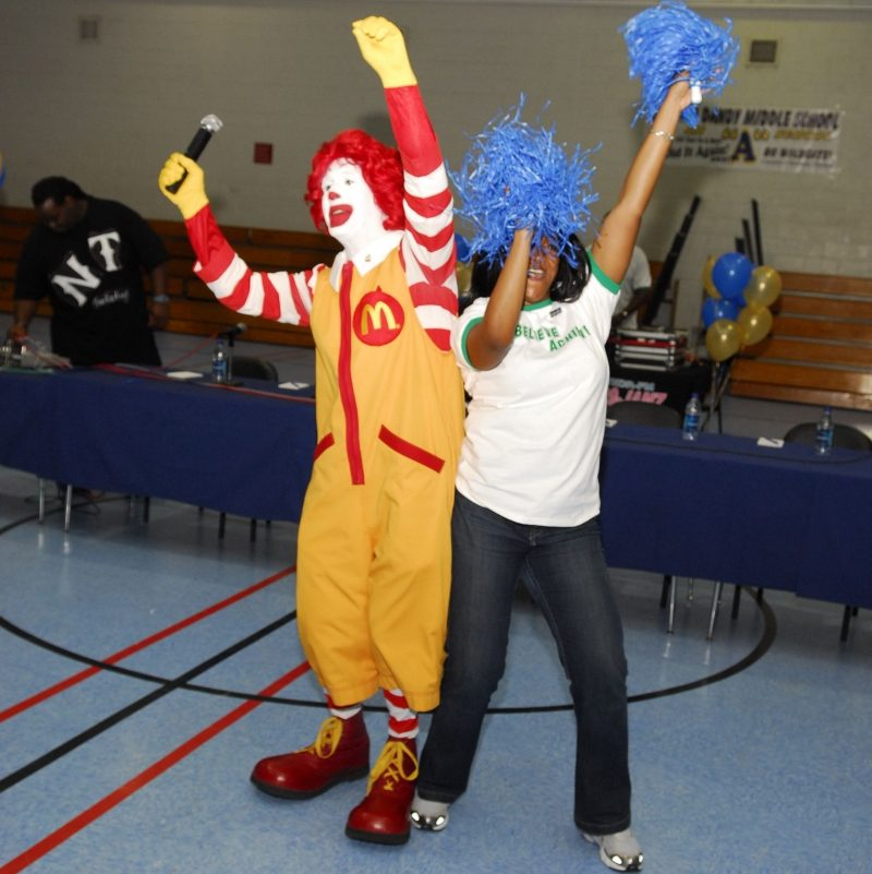 McDonald's All-American Achievers Pep Rally